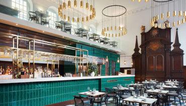 教堂新生,倫敦米其林港式茶餐廳 Duddell's