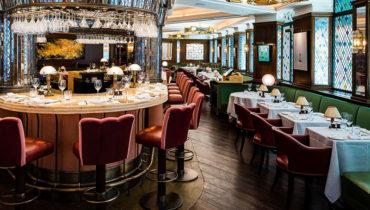 英國女王也低調造訪:倫敦百年英式餐廳 The Ivy