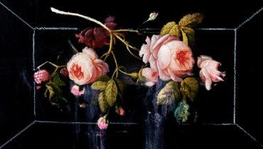 巴洛克藝術的當代引渡:街頭藝術家 Ted Pim 戲劇性花卉油畫作品